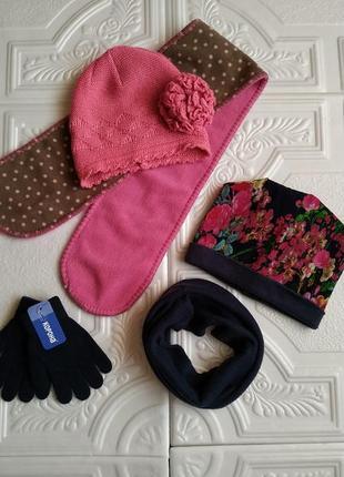 Пакет фирменных вещей (пальто, шапки, шарф, бафф и перчатки)4