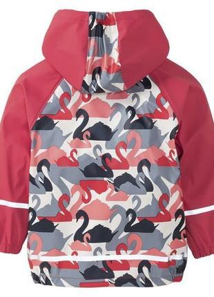 Куртка дождевик, без утеплителя, 110-116, германия3 фото