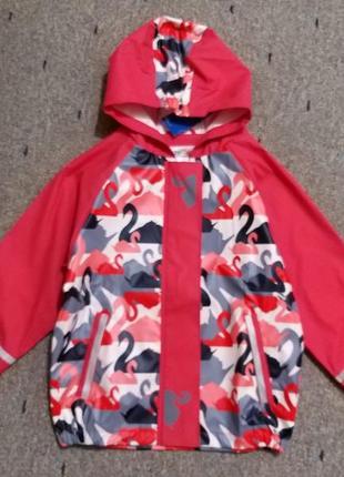 Куртка дождевик, без утеплителя, 110-116, германия5 фото