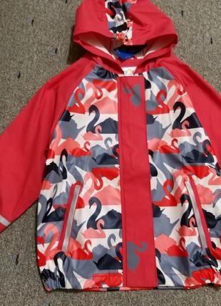 Куртка дождевик, без утеплителя, 110-116, германия7 фото