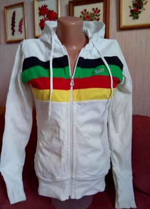 Трикотажна спортивна курточка з капюшоном н2о р. м