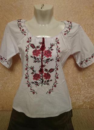 Новая вышиванка блузка