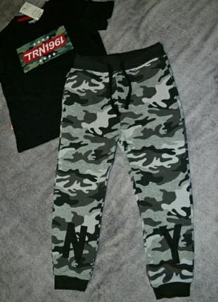 Спортивные штаны брюки 116-122,5-7 лет
