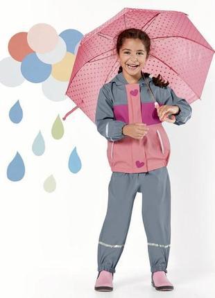 Куртка дождевик, без утеплителя, 86-92, 98-104,122-128, германия