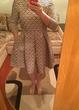 Женское платье с пышной юбкой от anna yakovenko