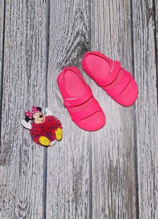 Фирменные кроксы для девочки, размер 251 фото