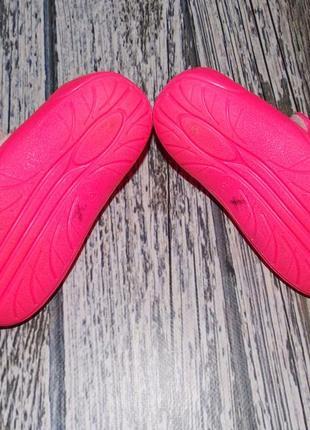Фирменные кроксы для девочки, размер 257 фото