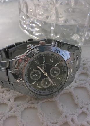 Годинник чоловічий rosra (мужские часы) металевий браслет