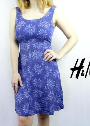 Сарафан в цветочек h&m woman collection