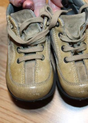 Добротні фірмові шкіряні черевички, унісекс5