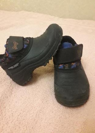 Деми ботиночки на липучке