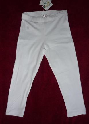Леггинсы, лосины chicco с бантиками, р.122 - 7 лет. новые брюки, бриджи, капри для девочки