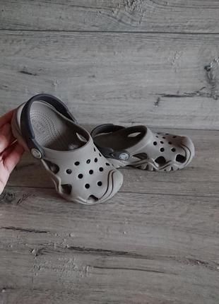 Кроксы crocs clog iconic comfort c 10 27-28 р 17,5 см оригинал3