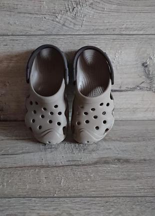 Кроксы crocs clog iconic comfort c 10 27-28 р 17,5 см оригинал2