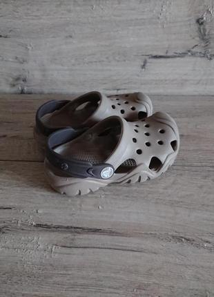 Кроксы crocs clog iconic comfort c 10 27-28 р 17,5 см оригинал4