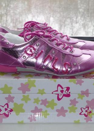 Кроссовки primigi, р.34 для девочки. новые кеды, туфли, ботинки, полуботинки2 фото