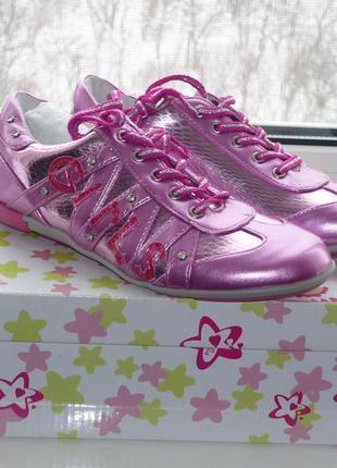 Кроссовки primigi, р.34 для девочки. новые кеды, туфли, ботинки, полуботинки