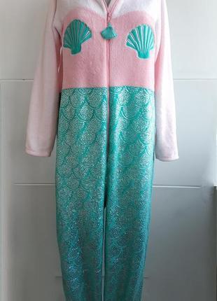 "Чудесный  комбинезон пижама кигуруми ""русалка ариэль"""""