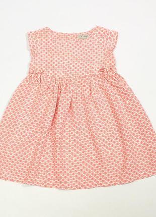 Нежное платье next, 2-3 года