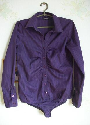 Рубашка блузка боди комбидресс