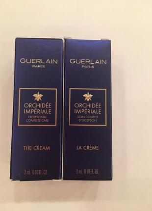 Cuerlain orchide imperiale  the  cream  крем для лица
