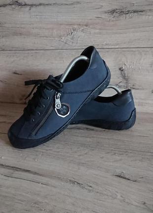 Туфли мокасины рикер pieker 41 р 26 см на узкую