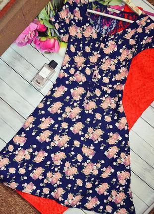Милое платье  в цветочек с кружевом