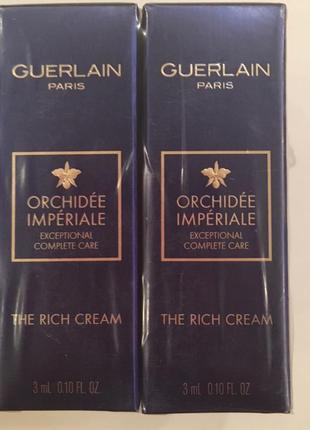 Cuerlain orchide imperiale  the rich cream  насыщенный крем для лица