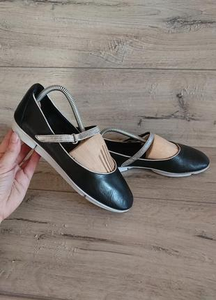 Туфли балетки кларкс clarks кожа 39,5 р 6 р 25,5 см