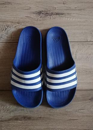 Шлепки шлепанцы адидас adidas 39-40 р 6 р 25,5 см