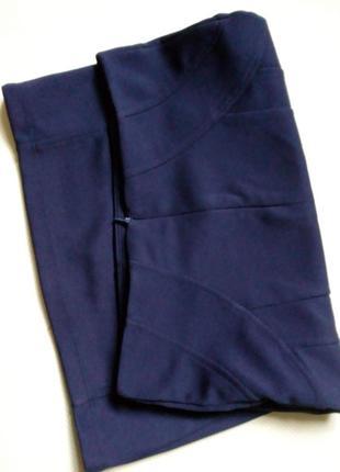 Классическая облегающая юбка3 фото