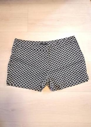 H&m шорты черно-белые