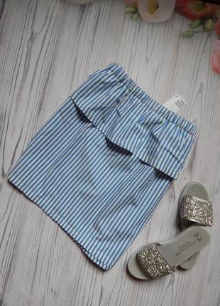 Шикарная, актуальная летняя юбка от фирмы h&m. размер 2xl.