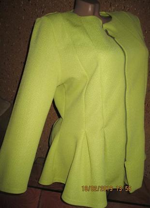 River island*шикарно-нарядная туника-пиджак с удлинённой спинкой