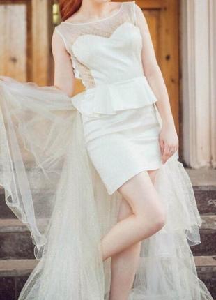 Вечернее платье! новое!2 фото