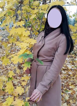 Кашемировое пальто классического кроя