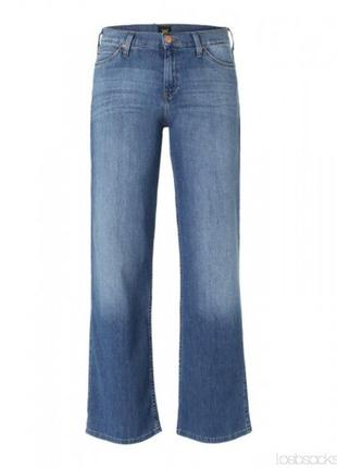 Ультрамодные джинсы lee расклешенные от бедра. скидка 50%