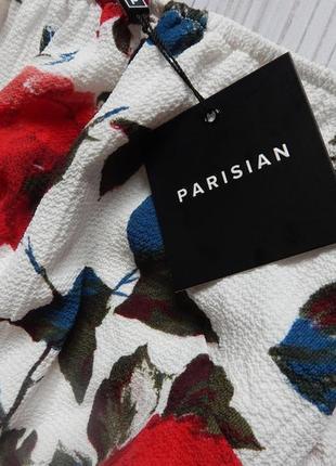 Невероятно шикарный летний комбинезон в цветочный принт от parisian collection. размер l.5