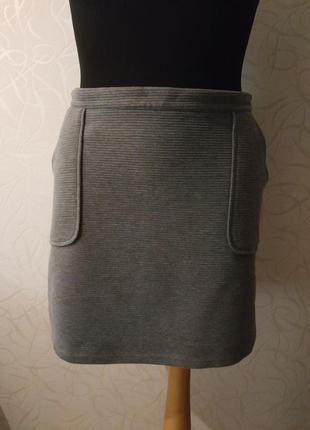 Классная трикотажная юбка