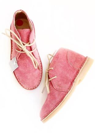 Замшевые ботинки от next размер 9