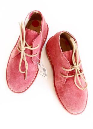Замшевые ботинки от next размер 97