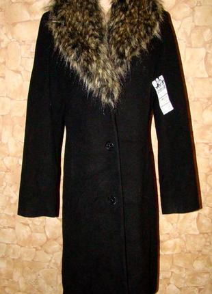 Демисезонное пальто yessica р.40