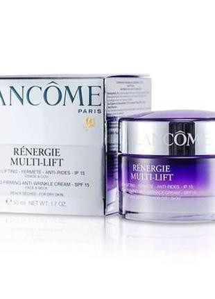 Дневной лифтинг крем для лица lancome renergie multi-lift 50мл