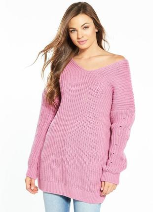 🌿 удлиненный свите, свитер - платье от v by very