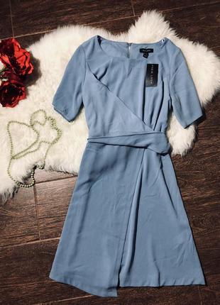 Очень красивое голубое платье