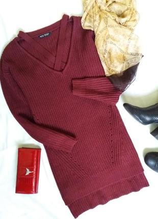 Оверсайз свитер платье