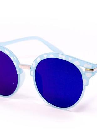 Круглые очки. 15921-1. очки. солнцезащитные очки. очки в стиле fendi