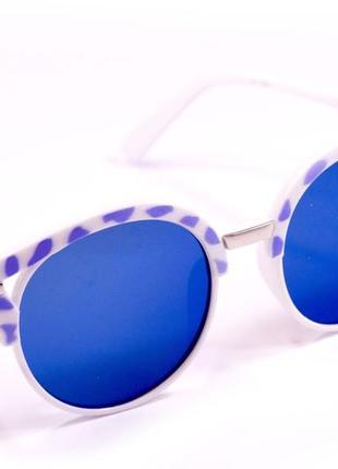 Круглые очки. 15921-4. очки. солнцезащитные очки. очки в стиле fendi