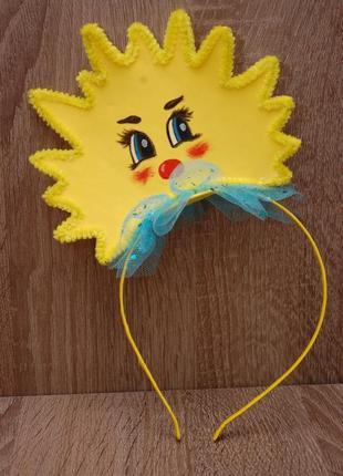 Обруч ободок солнце сонце сонечко солнышко на утренник