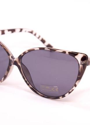 9903-4. очки. солнцезащитные очки. очки в стиле cateyes. очки лисички